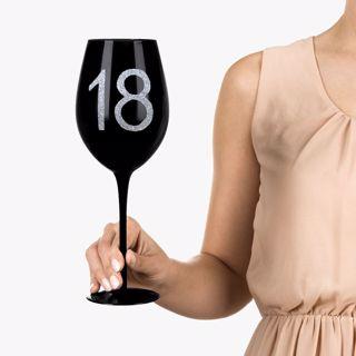 Gigantyczny kieliszek 18 prezent urodzinowy