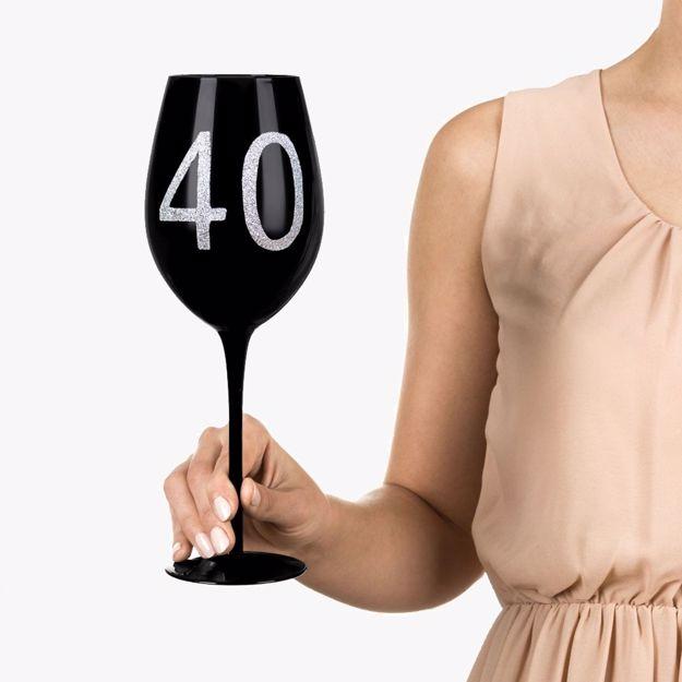 Gigantyczny kieliszek 40 prezenty urodzinow dla kobiet warszawa
