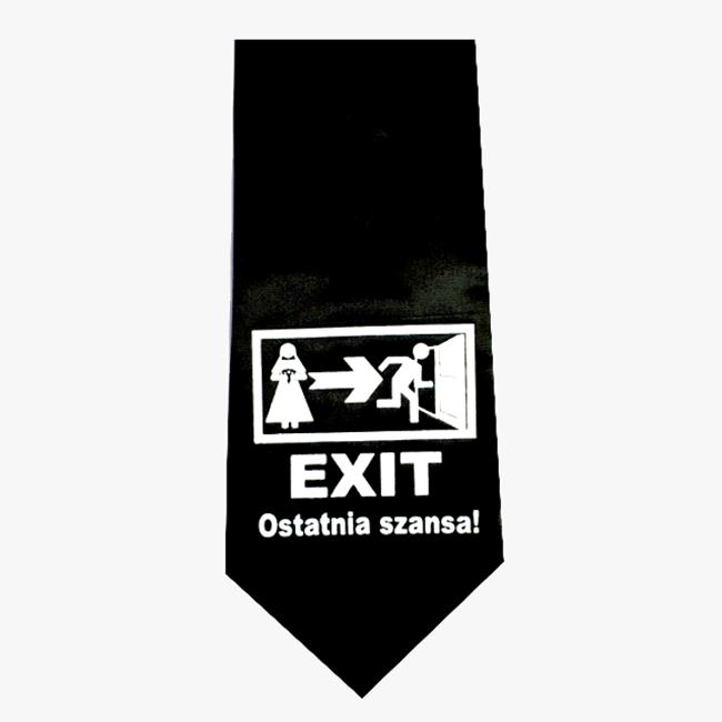 krawat Exit Wieczór Kawalerski Warszawa