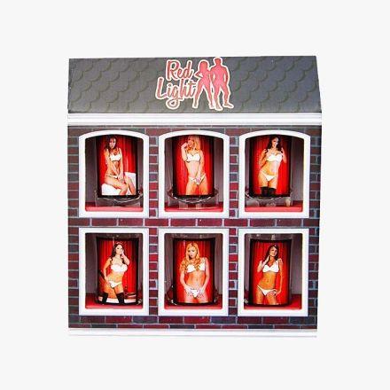 Kieliszki Red Light Kobiety prezent dla niego