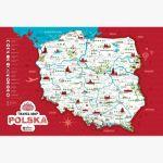 Mapa zdrapka polska prezent dla niego