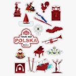 Mapa zdrapka polska prezent na ślub