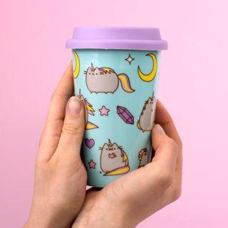 Pusheen ceramiczny travel Mug prezent dla niej