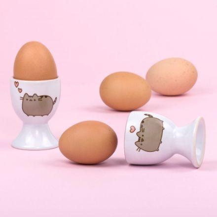 Pusheen podstawki do jajek prezent dla niej