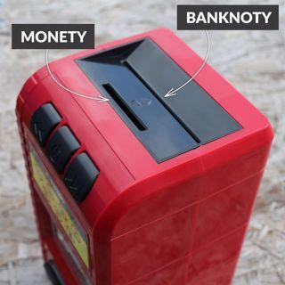 Skarbonka niszczarka banknotów prezent dla chłopca