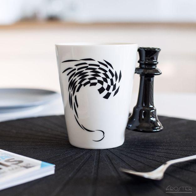 Kubek szachisty królowa prezent dla niej