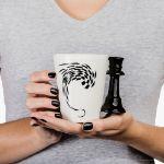 Kubek szachisty królowa prezent dla dziewczyny