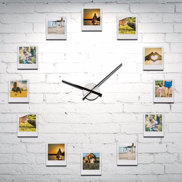Zegar impresjonistyczny z 12 ramkami prezent dla niej