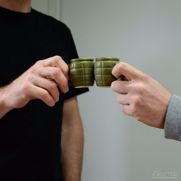 Kieliszek granat prezent dla ojca