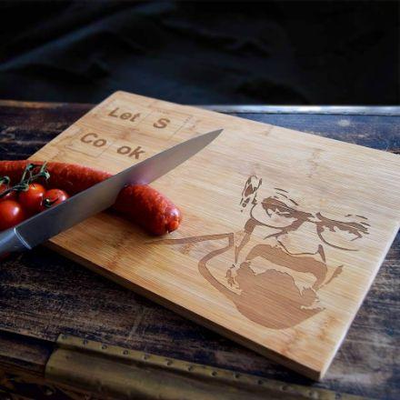 Deska do krojenia Let's cook prezent dla niego