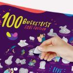 BucketList Love plakat zdrapka dla dwojga prezent dla zakochanych warszawa