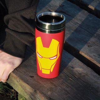 Kubek Termiczny Iron Man prezent dla chłopaka warszawa