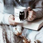 zaskakujący kubek kot prezent dla dziewczyny