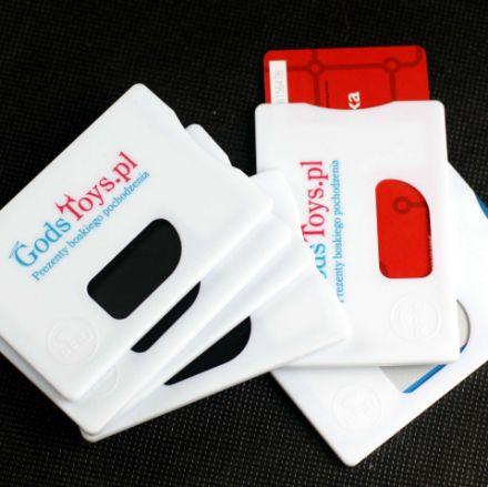 Etui Antykradżieżowe na kartę RFID gadżet dla niego