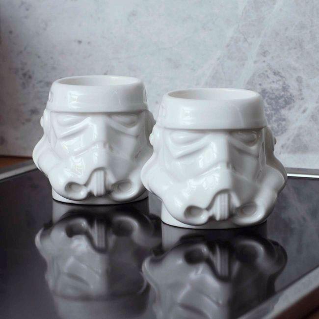 stormtrooper filiżanki do espresso prezent dla niego