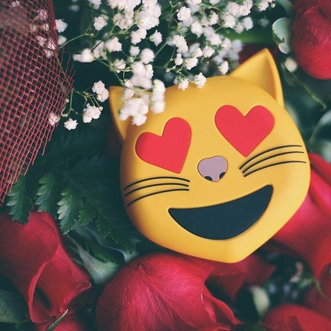Powerbank kotek emoji prezent dla niej