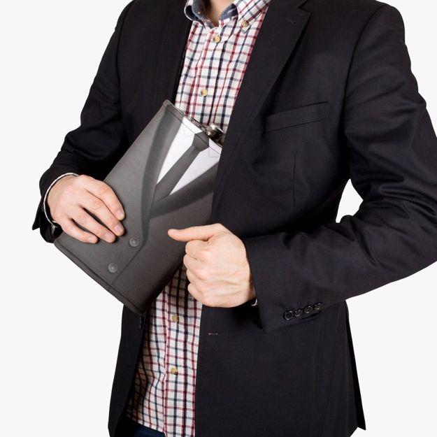 Gigantyczna piersiówka grntelman ptrezent dla ojca