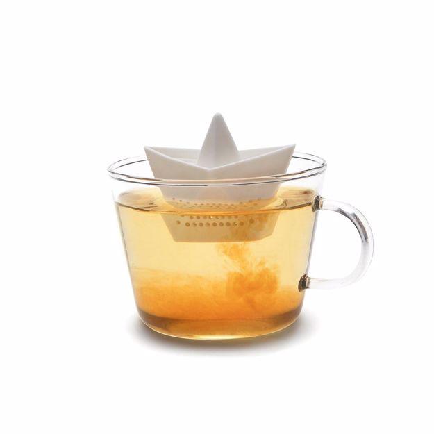 zaparzaczka do herbaty łódeczka prezent dla niej