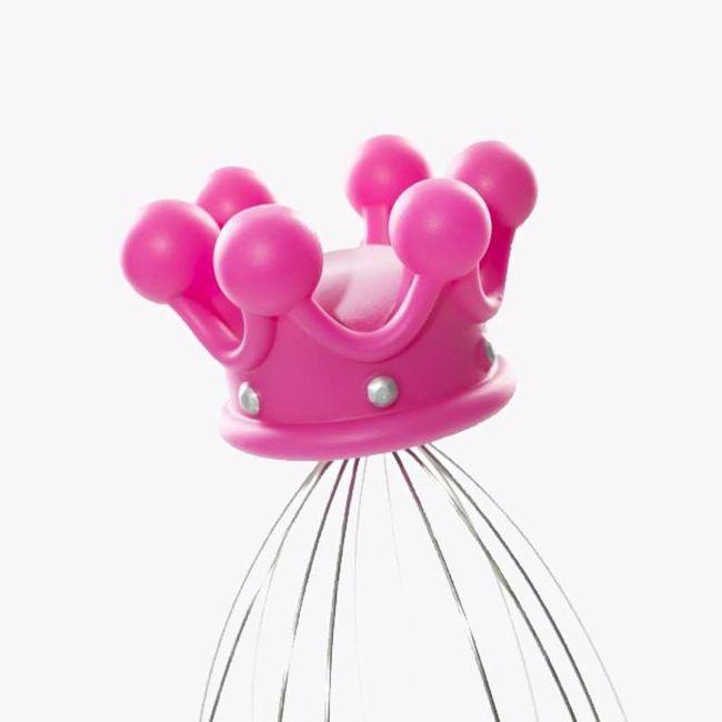 Masażer głowy dla królowej prezent dla dziewczyny