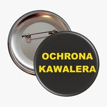 Przypinka ochrona kawalera prezent na kawalerskie warszawa