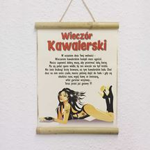 Certyfikat na wieczór Kawalerski prezent dla niego warszawa