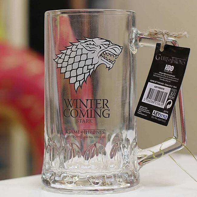 Kufel gra o tron winter is coming prezent dla chłopaka