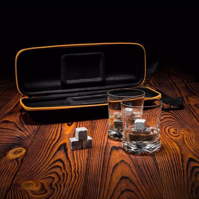 Zestaw do whisky w etui prezent dla ojca