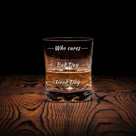Szklanka do Whisky - Who Cares prezent dla chłopaka warszawa