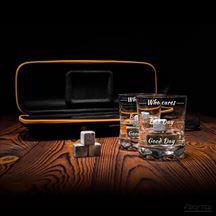 Zestaw do Whisky w Etui – Who Cares prezent dla szefa