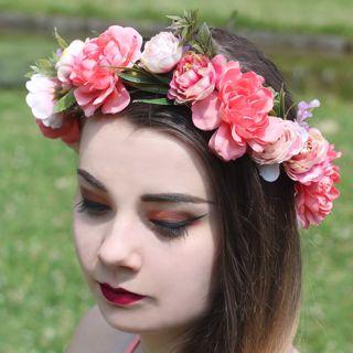 Wianki z kwiatów akcesoria na panieński warszawa