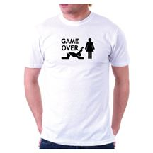 Koszulka na wieczór kawalerski Game OVER - Oddaj Kartę Warszawa
