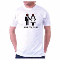 Koszulka Single Są Głupi gadżety na wieczór kawalerski warszawa