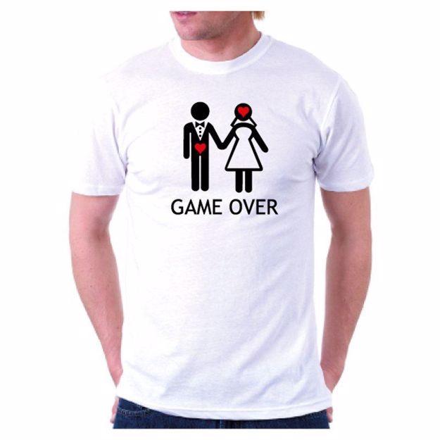Koszulka na wieczór kawalerski game over sklep warszawa