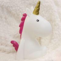Lampka LED – Jednorożec – Biały z Różową Grzywą prezent dla dziewczyny