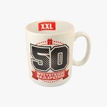 Kubek XXL 50 tka prezent dla ojca warszawa