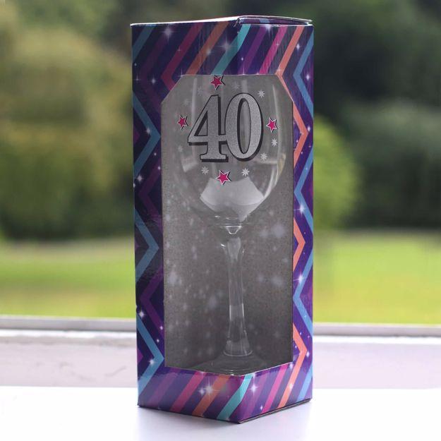 gigantyczny kielich urodzinowy 40 prezent dla niej warszawa
