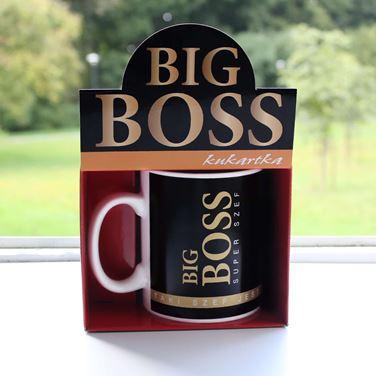 Kubek Gigant – Big Boss – Super Szef prezent dla szefa warszawa