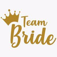 Tatuaż Panieński – Team Bride - Korona – Mała wieczór panieński warszawa