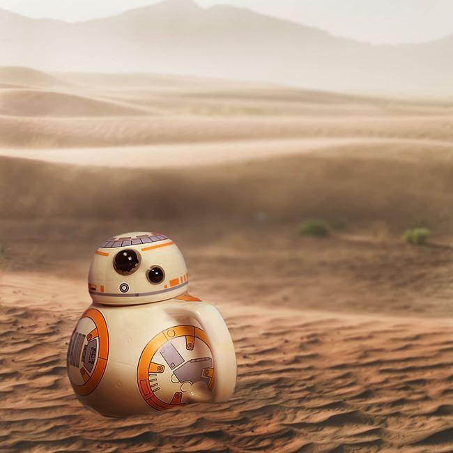Star Wars kubek 3d BB8 prezent dla chłopaka warszawa