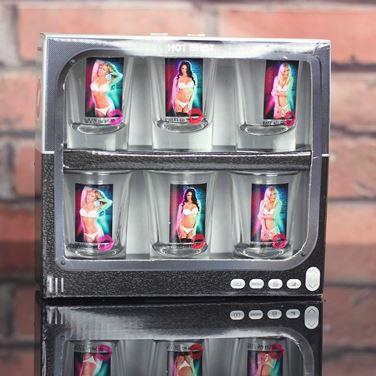 Magiczne kieliszki hot shot kobiety gadżety na wieczór kawalerski warszawa