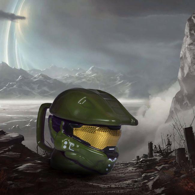 Kubek 3D – Halo Master Chief prezent dla chłopaka