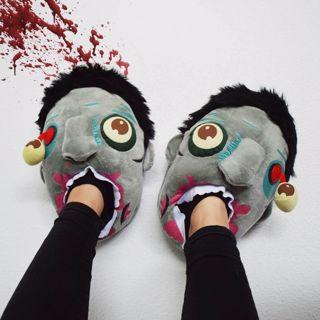 Kapcie Zombie prezent dla przyjaciela