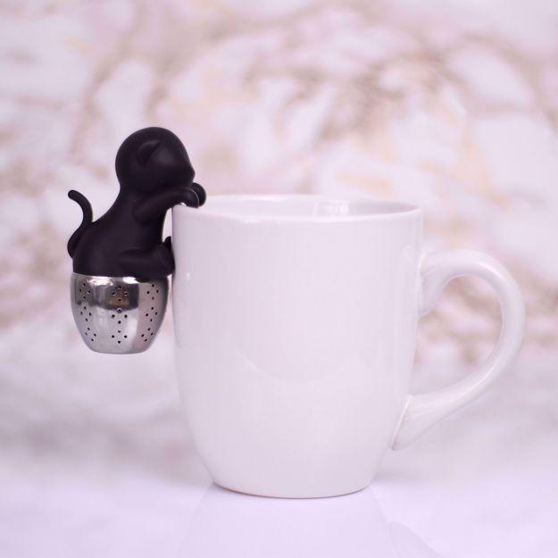 Zaparzaczka Do herbaty Kot prezent dla mamy