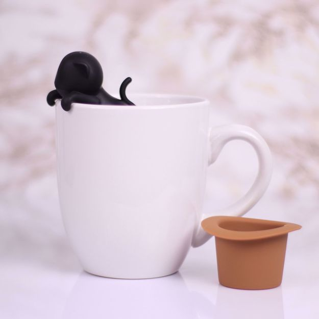 Zaparzaczka Do herbaty Kot prezent dla kobiet