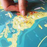 Familijna Mapa Zdrapka – Mapito prezent na święta warszawa