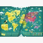 Familijna Mapa Zdrapka – Mapito prezent na święta warszawa sklep