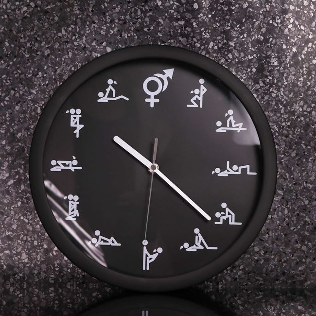 Zegar Seksu śmieszny prezent na ślub