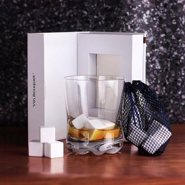 Ceramiczne kostki do drinków prezent dla taty warszawa