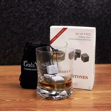 Kamienne kostki do whiskey prezent dla szefa
