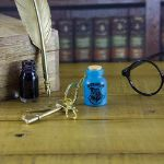 Harry Potter Świecąca Buteleczka do Eliksirów – Brelok prezent dla siostry
